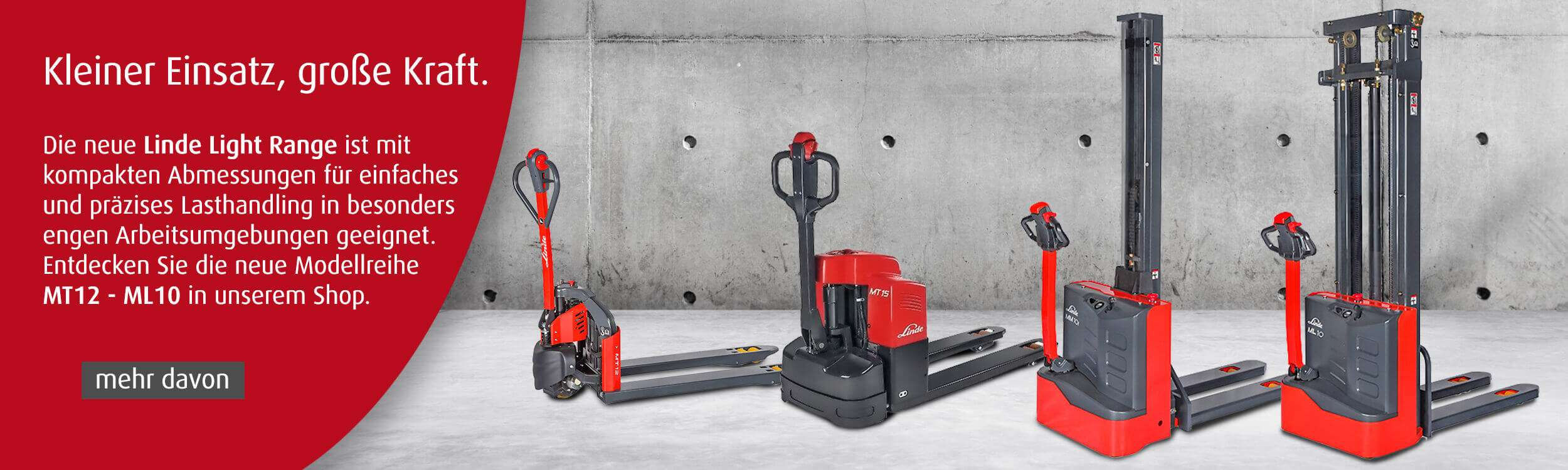 Linde Light Range