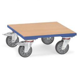 Kistenroller mit Holz-Plattform