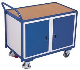 Werkstattwagen mit 1 Ladefläche mit Schränken