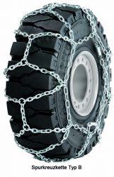 Schneekettensatz für Staplerreifen - Für diverse Reifengrößen