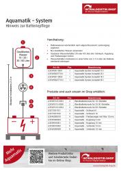 Aquamatic-Batterie Füllbehälter 10 Ltr, 20 Ltr., oder 30 Ltr.