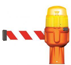 LED-Warnlicht Blinkaufsatz gelb
