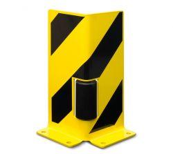 Ecken-Anfahrschutz mit Leitrolle