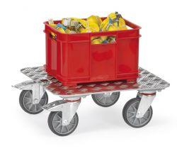 Kistenroller mit Aluminium-Quintettblech