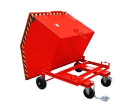 Kastenwagen KW-ET für Stapler - mit Einfahrtaschen