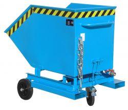 Spänekastenwagen SKW-ET für Stapler mit Einfahrtaschen