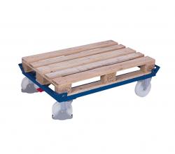 Palettenfahrgestell - Tragkraft: 1.050 kg Polyamidräder