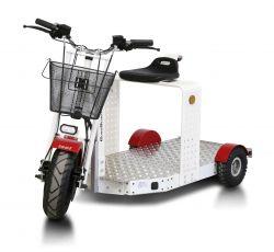 Elektro-Transportroller EuroScooter II, lange Plattform, max. 15 km/h