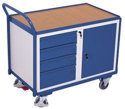 Werkstattwagen mit 1 Ladefläche