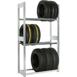 Reifenregal, Tragkraft: 150 kg, Länge: 1.500 mm