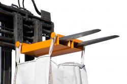 Big Bag Staplertraverse, Stapleraufnahme Tragkraft: 1.000 kg