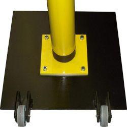 Untergestell für Klingelpfosten - Für den mobilen Einsatz