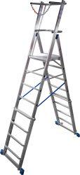 Stabilo® Teleskop-Plattformleiter, 6-10 Sprossen