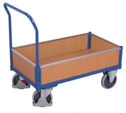 Kastenwagen mit Holz, Tragkraft bis 500 kg