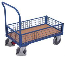 Kastenwagen mit Drahtgitter, Tragkraft bis 500 kg