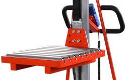 Plattform mit Rollenbahn - Für Elektrolifter T50070