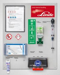 Batterie-Serviceboard, Material: Alu-Dibond