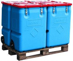 Sammelbehälter Mobil mit Gefahrgut-Zulassung